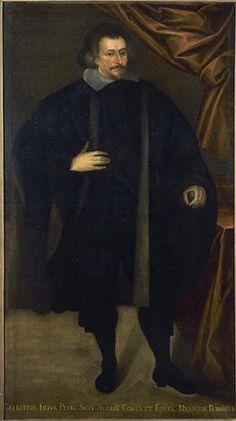 Pittore di ambito lombardo - Ritratto del conte e cavaliere Galeazzo Secco Suardo - 1660 circa - Accademia Carrara di Bergamo Pinacoteca