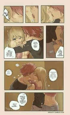 [Anime] : Fairy Tail [Manga] : Fairy Tail [Characters] : Natsu | Lucy [Subject] : Nalu