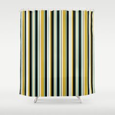 Stripes Shower Curtain by Jaymee - $68.00