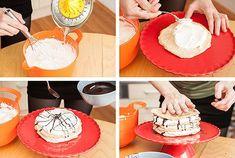 Bílkový dort se šlehačkou bez mouky - Proženy Vanilla Cake, Birthday Cake, Food, Birthday Cakes, Essen, Meals, Yemek, Cake Birthday, Eten