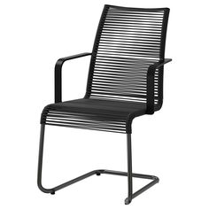 VÄSMAN Chair with armrests - black - IKEA
