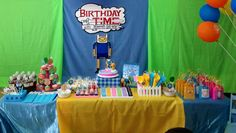 Adventure Time Themed Party