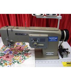 Brother LE2-B861-1 Irish Embroidery Industrial Sewing Machine - IS-326 - Industrial Sewing Machines