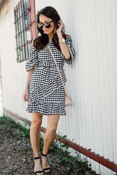 Gingham Dress (under $40)