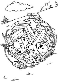 Piglet Hatching From Easter Egg Disney Easter Coloring