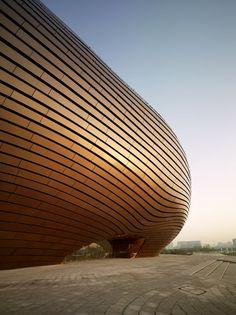 Ordos Museum, museo en el desierto del Gobi, diseñado por MAD Architects.