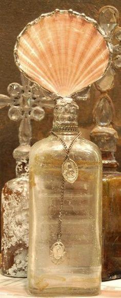 Vintage inspired bottles.