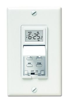 7 Day Programmable Light Switch Timer