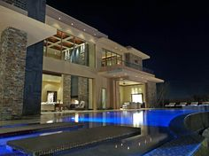 Las vegas mansion the ridges luxury homes 31 hawk for Las vegas dream homes