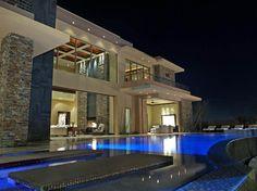 Las vegas mansion the ridges luxury homes 31 hawk for Las vegas dream homes