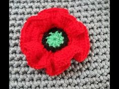 Applique Crochet - YouTube Appliques, Youtube, Yarn Flowers, Amigurumi, Manualidades, Flower Crochet, Poppies, Accessories, Riveting