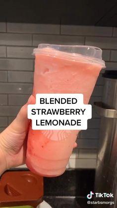 Bebidas Do Starbucks, Healthy Starbucks Drinks, Starbucks Secret Menu Drinks, Fun Baking Recipes, Snack Recipes, Dessert Recipes, Snacks, Fondue Recipes, Copycat Recipes