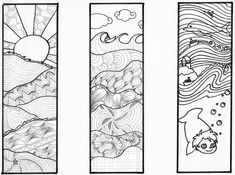 marque-pages à colorier - Fiches de préparations (cycle1-cycle 2-ULIS) Gravure Laser, Hunter X Hunter, Art Sketches, Bookmarks, Bullet Journal, Clip Art, Printables, Illustration, Cycle 2