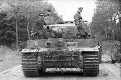 Tiger I near Villers-Bocage, France June 1941