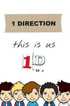 1D wallpaper cartoon version