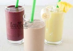 Питательный смузи на завтрак - яркий, насыщенный, вкууусный! Готовим напиток на основе миндального молока, меняем ингредиенты и