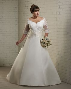 Bonny Bridal Bridal Gown - Unforgerrable Plus Size 1220 from Laboutiquedesbride.com - $409.95
