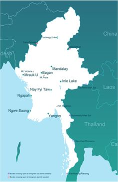 Getting to, or leaving, Myanmar over land is not usually allowed for foreigners. Here is our continually updated guide to the routes that are accessible.