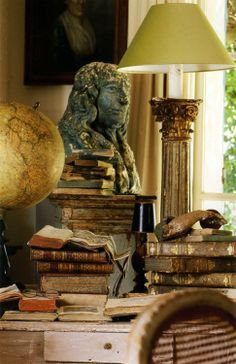 old world study, different view, from Gypsy Purple Home