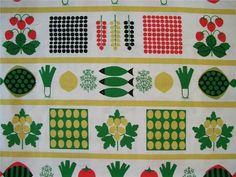 "Aune Laukkanen - Tyg ""SOMMARMIDDAG"" - almedahls. på Tradera. Scandinavian Fabric, Scandinavian Pattern, Textiles, Textile Design, Minimalist Design, Fabric Patterns, Dorm, Printing On Fabric, Fabrics"
