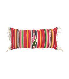 ff99737c5057 Serape Pillow w/ Fringe - Textiles - Vintage by Category - Vintage