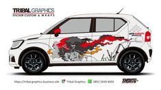 Sticker Mobil Sorong, Suzuki Ignis Sticker Design.  TRIBAL GRAPHICS jln. Trikora,Transad,Aimas Kab.Sorong Papua Barat Call/SMS/WA (0852-5434-4693)  #TribalGraphics #CuttingSticker #3DCuttingSticker #Decals #Vinyls  #Stripping #StickerMobil #StickerMotor #StickerTruck #Wraps  #AcrilycSign #NeonBoxAcrilyc #ModifikasiMobil #ModifikasiMotor #StickerModifikasi  #Transad #Aimas #KabSorong #PapuaBarat Car Decals, Sticker Design, Japan, Car Decal, Japanese