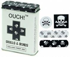 """Laastari """"Skulls and bones"""" 6,90€"""