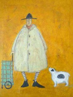 Sam Toft Mr Mustard by Orangehat Art and Ceramics, via Flickr