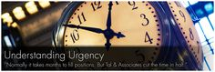 At TAL & Associates We understand the importance of Urgency