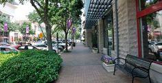 No. 1. Best Run City = Plano, Texas. Street scene in Plano, Texas © Q-Images/Alamy
