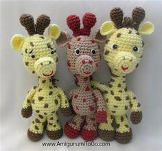These cute crochet amigurumi giraffes make fabulous gifts. Free Giraffe Pattern - Media - Crochet Me
