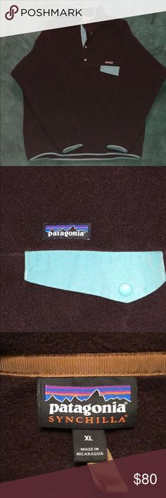Patagonia Synchilla Snap-T Fleece Pullover Patagonia Synchilla Snap-T Fleece Pullover Size: XL (fits like XXL) Worn once, lost weight and is way too big now Patagonia Other