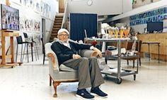 David Hockney back in L.A.