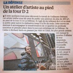 Bottazzi : Contemporary art: Guillaume Bottazzi - Journal Le Parisien