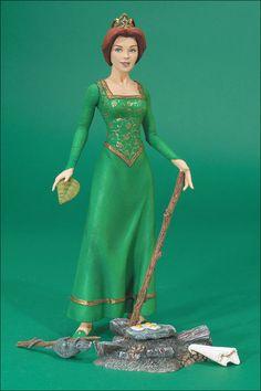 Shrek Figures Princess Fiona by McFarlane Toys Princesa Fiona, Shrek Costume, Cosplay Costumes, Black Wedding Dresses, Wedding Bridesmaid Dresses, Black Weddings, Wedding Black, Jack Frost, Non Disney Princesses