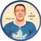 Shirriff Coins - Al Arbour - Toronto Maple Leafs (Front) Blackhawks Hockey, Chicago Blackhawks, Arbour, Hockey Cards, Toronto Maple Leafs, Trading Card Database, Sheriff, Nhl, Ontario