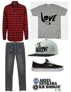 Outfit skater boy vans by Ariel Estrada Rengifo KB BOOGIE