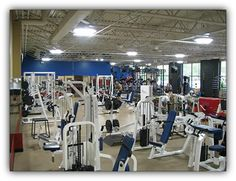 Fenton Fitness and Athletic Center Workout Area