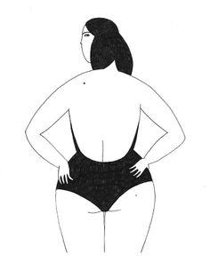 La Nageuse by Sabrina Arnault, via Behance