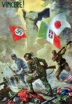 Italian Axis postcard 1943