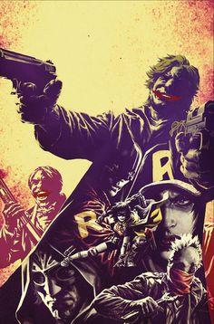 BATMAN UNIVERS HORS SERIE tome 4 (27.01.2017) // Une saga complète de WE ARE ROBIN ! Le groupe des Robin revient dans une saga complète par Lee BERMEJO et Jorge CORONA ! Cette fois-ci, ils sont confrontés à un gang concurrent : les Joker ! (Contient les épisodes US WE ARE ROBIN #8-12)  #urban #comics #batman #univers #hors #serie #français
