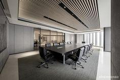 Modern Office Design, Office Interior Design, Office Interiors, Workspace Design, Office Workspace, Office Decor, Office Entrance, Office Lobby, Office Ceiling