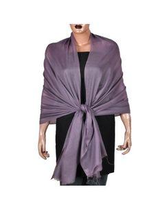 Mode Femme - Collection Hiver 2012 - Large Echarpe 100% Cachemire - Etole Fait main -Couleur prune - Idée Cadeau de valentin: Amazon.fr: Vêtements et accessoires