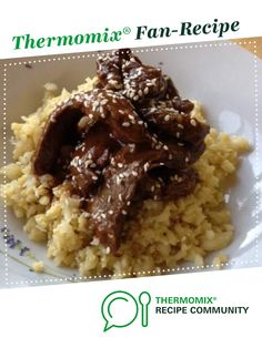 Paleo Mongolian Beef by paleomama. A Thermomix <sup>®</sup> recipe in the category Main dishes - meat on www.recipecommunity.com.au, the Thermomix <sup>®</sup> Community.