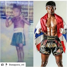 with What a long journey for Buakaw. He has gone through so much and he is such a big representative for the sport. Many of us look up to his fierce style and strong personality in the ring. Buakaw Banchamek, Muay Thai Training, Mixed Martial Arts, Kickboxing, Fun Workouts, Thailand, Kicks, Strong Personality, Wrestling