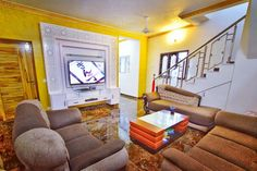 Smart home Decors Contact 9841421111 9840948007 Elakkya Smart Home, Couch, Interiors, Furniture, Home Decor, Smart House, Settee, Decoration Home, Sofa