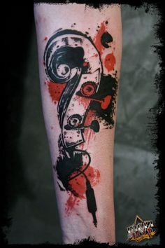 not a fan of tattoos like this, but I really enjoy the design.