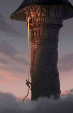 #Tangled Tower, from Walt #Disney Pictures Tangled - Tangled Inspirations at the Disney Parks!