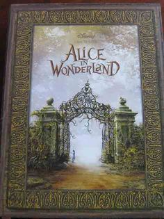 Alice in Wonderland promotional book