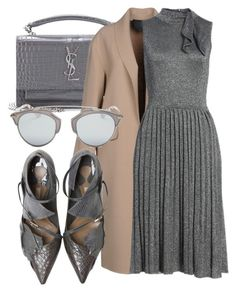 """""""#383"""" by endyrinch ❤ liked on Polyvore featuring Yves Saint Laurent, Alexander Wang, Kate Spade and Christian Dior"""